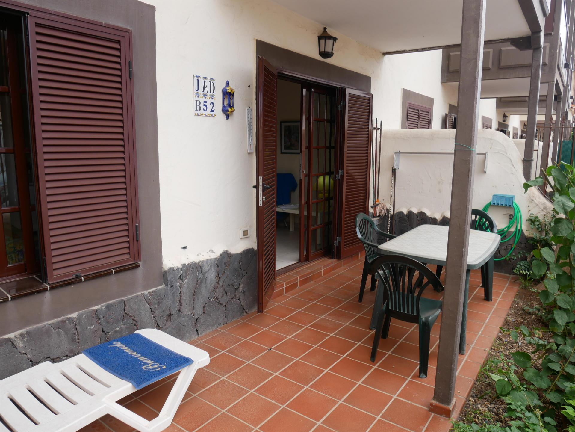 1 bedroom apartment located on the ground floor in the complex Balcon del Mar.The .... more info