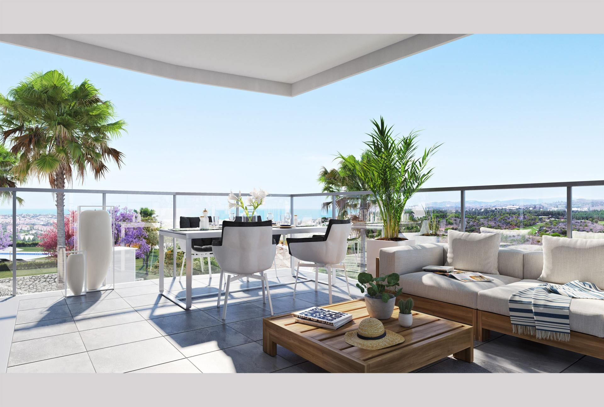 Ref:D3270235P Penthouse For Sale in Mijas