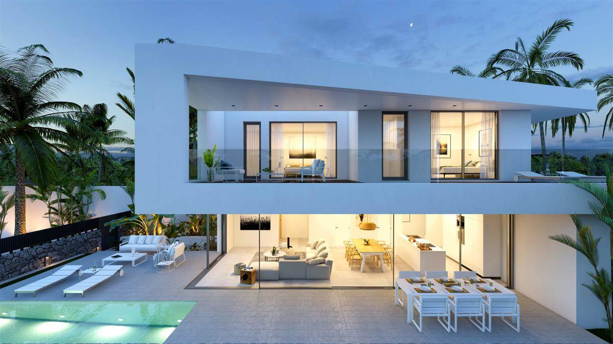 New construction in the magnificent domain of the golf of Abama. From 527.88 to 650.09 .... more info